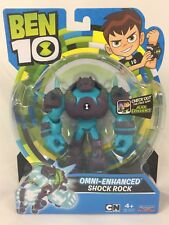 Cartoon Network Ben 10 Omni-Enhanced Shock Rock Figure Ages 4+ NIB Shockrock