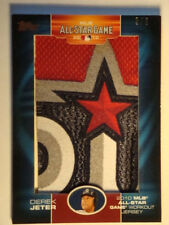 2010 Derek Jeter Topps All Star Jumbo Patch #ASJP-DJ #5/6