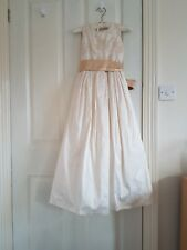 Bridesmaid dress childrens size 9 with shrug
