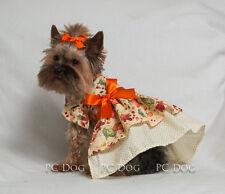 XXXS Autumn Harvest Dog dress clothes pet apparel clothing teacup puppy PC Dog®