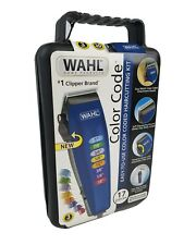 Wahl Color Code hair clippers Complete Hair Cutting Kit 17pc New ships Real FAST