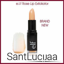 E.L.F ELF COSMETICS LIP EXFOLIATOR SCRUB TREATMENT SOFT SMOOTH LIPSTICK ROSE