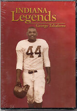 Indiana Legends: George Taliaferro (New DVD,2008) I. University's star halfback.