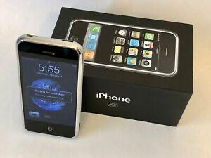 Working Original Apple iPhone A1203 2G 1st Gen 8GB iPhone in original box