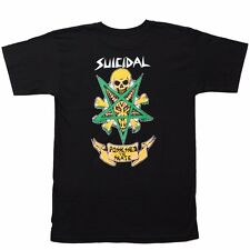 Dogtown X Suicidal Tendencies POSSESSED TO SKATE Skateboard T Shirt BLACK XXL