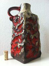 Carstens Keramik Vase 30 cm Tönnieshof lava 60s 70er 70s Lava pop