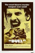 "DUEL Movie Poster [Licensed-NEW-USA] 27x40"" Theater Size Spielberg 1971 (B)"