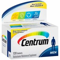 Exp.date 04/2021-Centrum - Men Multivitamin / Multimineral, Vitamin D3 120 Table