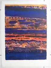 GARCIA-FONS Pierre lithographie port de COLLURE signé L101