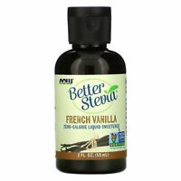 Better Stevia, Zero-Calorie Liquid Sweetener, French Vanilla, 2 fl oz (59 ml)