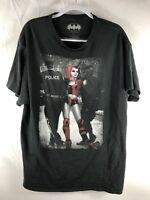 Batman Harley Quinn  Black Mens Shirt Size XL