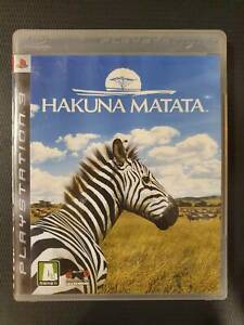 USED PS3 Hakuna Matata (Korean/English Version)