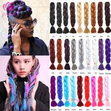 100cm 165g Kanekalon Jumbo Braid Twist Crochet Braid Synthetic Hair Extensions