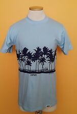 Vintage Kauai Crazy Shirts Hawaii Sailboat Surf T Shirt 1977 Men Size M Mint