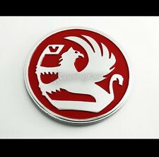 Red Griffin Badge Emblem Decal Vauxhall Opel Holden GM Astra Corsa OPC GSI