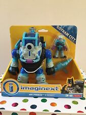 Imaginext DC Super Friends Batman Mr Freeze & Robot