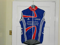 Team GB PDP SKY 2012 cycling bike gilet jersey Adidas shirt  windvest