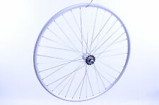 REAR FLIP FLOP WHEEL 700c 622-13 FIXIE DOUBLE WALL PROFILE RIM + SEALED HUB RRP