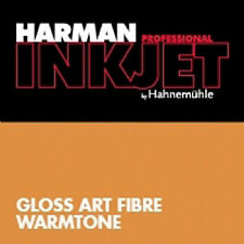 HARMAN BY HAHNEMUEHLE HAHNEMUHLE CARTA INKJET GLOSS ART FIBRE WARMTONE A4 5 FG.