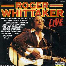 Roger Whittaker Live CD Near Mint Durham Town Last Farewell 22 Tracks EX