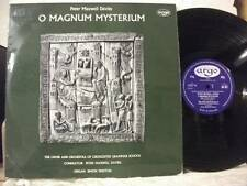 RG 327 DAVIES O Magnum Mysterium CIRENCESTER GRAMMAR SCHOOL CHOIR ARGO MONO UK