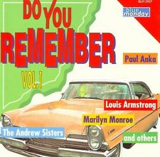 DO YOU REMEMBER vol 1 Compil jazzy Anka, M.Monroe,...