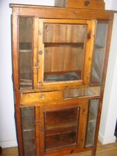PINE MEAT SAFE CUPBOARD  1800'S ALL ORIGINAL