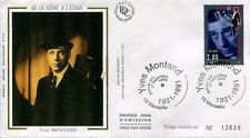 FRANCE FDC - 2901 1 YVES MONTAND - 17 Septembre 1994 - LUXE sur soie