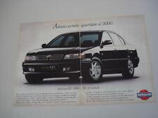 advertising Pubblicità 1996 NISSAN MAXIMA QX