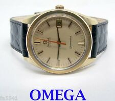 Mens S/Steel & 14k OMEGA SEAMASTER DATE Automatic Watch Cal. 563* MINT* SERVICED