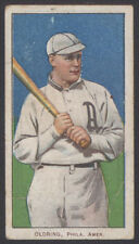 1909 1910 1911 T206 BASEBALL TOBACCO CARD RUBE OLDRING TOLSTOI RUSSIAN