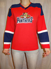 Florida Panthers Sewn Red Jersey Sz Youth M Jrs M Vintage 90's NHL Winning Goal