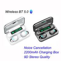 Wireless Earphones Bluetooth 5.0 Earbuds Headphones Noise Cancellation Headsets