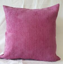 NEW SEASON SOFT CHENILLE  FUSCHIA PINK COLOUR CUSHION COVER 17'X17