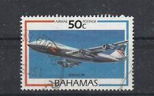 v425  Bahamas/ Flugzeuge   MiNr 652 o aus Satz