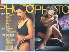 Lot  2  Magazines   PHOTO   Sophie Marceau  N° 216 et  248