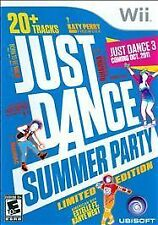 Just Dance: Summer Party (Nintendo Wii, 2011) NEW