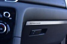 PLACCA IN ACCIAIO KIA SPORTAGE CRDI GDI XL L M 4X4 2WD AWD GT LINE SPORT^ L0
