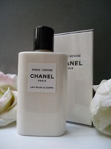 CHANEL PARIS VENISE Moisturizing Body Lotion 200ml Rare on Ebay New Sealed Box