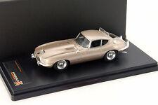 Jaguar E-Type Loewy Baujahr 1966 bronze metallic 1:43 Premium X