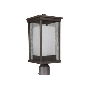 Craftmade Outdoor Riviera II Large Post Mount, Oiled Bronze - Z3775-OBO