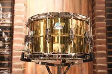 Ludwig Super Brass 8x14 LB488 Snare Drum - B-Stock!