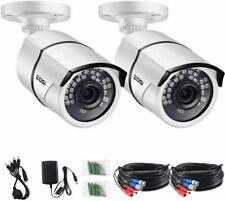 Zosi (2AK-2612B-WS-EU)Deux Caméra de Surveillance Extérieure en Métal Ip66 1080p Vision Nocturne de 36 m
