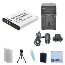 LI-70B Battery + Charger for Olympus VG-120 VG140 VG150 VG160 VR-120 VR130 VR140