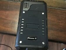 Black IP68 Armor Case IPhone X Aluminum Shock, Water and Dust proof Cover