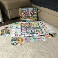 Monopoly 2008 3D Buildings CITY Interactive Family Board Game! 100% Complete&VGC