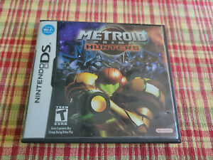 Metroid Prime Hunters - Authentic - Nintendo DS - Case / Box Only!