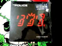 THE POLICE GHOST IN THE MACHINE VINYL LP SHRINK WITH RARE HYPE STICKER!!!