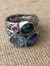 Brighton Elora Gems Vitrail Ring Size 7