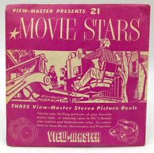 View-Master MPX, Movie Stars, S1 Packaging 1954, 3 Reel Set SEALED NOS